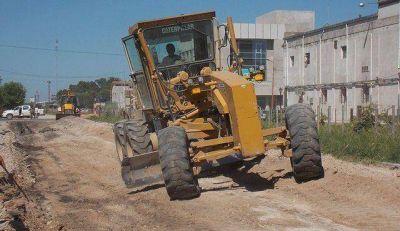 Actividad municipal: obras y reunión con vecinos