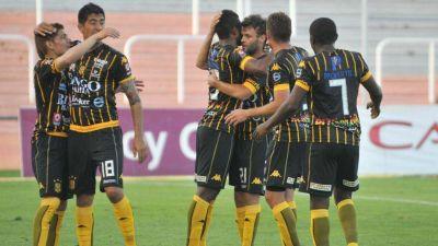 Olimpo superó 3-0 a Godoy Cruz y logró el primer triunfo como visitante en el torneo