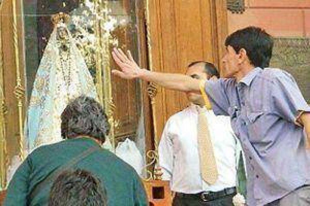 Se iniciaron los actos religiosos