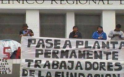 Salta: Organizaciones sociales marcharan este martes en apoyo a terciarizados despedidos del San Bernardo
