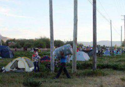 La toma de tierras en Junín ya suma a unas 60 familias