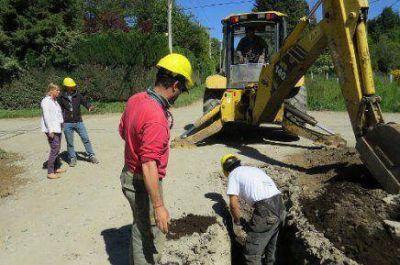 Comenzó construcción de red cloacal en Las Margaritas