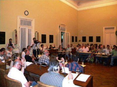 Se aprobó por unanimidad el aumento de tasas municipales