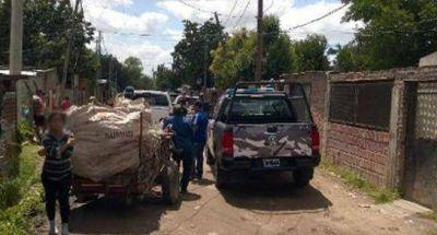 Una banda narco contrataba carritos para delibery