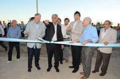 9 de Julio inauguró importantes obras