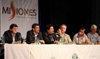 Closs anunció inversiones en los municipios por 350 millones de pesos
