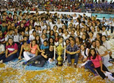 Juegos Intercolegiales 2014: la fiesta fue de todos y la copa, del tricampeón