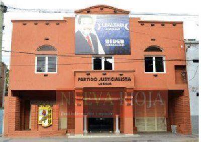 El PJ riojano convocaría a internas para el 8 de marzo