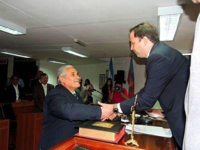 Saadi y Marcial, Presidente Provisorio y Vice del Senado
