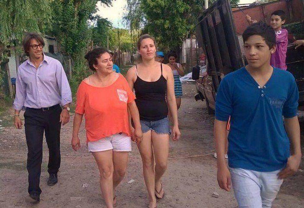 El concejal Nunzio Miguel brindó detalles de las donaciones recibidas y distribuidas en el Distrito