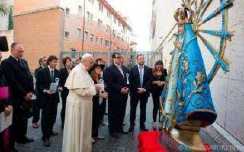 Bahía Blanca, Patagones y Pringles reciben a la Virgen de Luján bendecida por el Papa