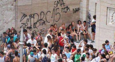 Acciones de concientizaci�n ante vandalismo en espacios p�blicos