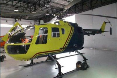 El gobierno sumó el tercer helicóptero a la flota provincial