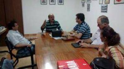 Visita de concejales y consejeros escolares del GEN en el Frente Amplio UNEN, a Chillar y Cacharí