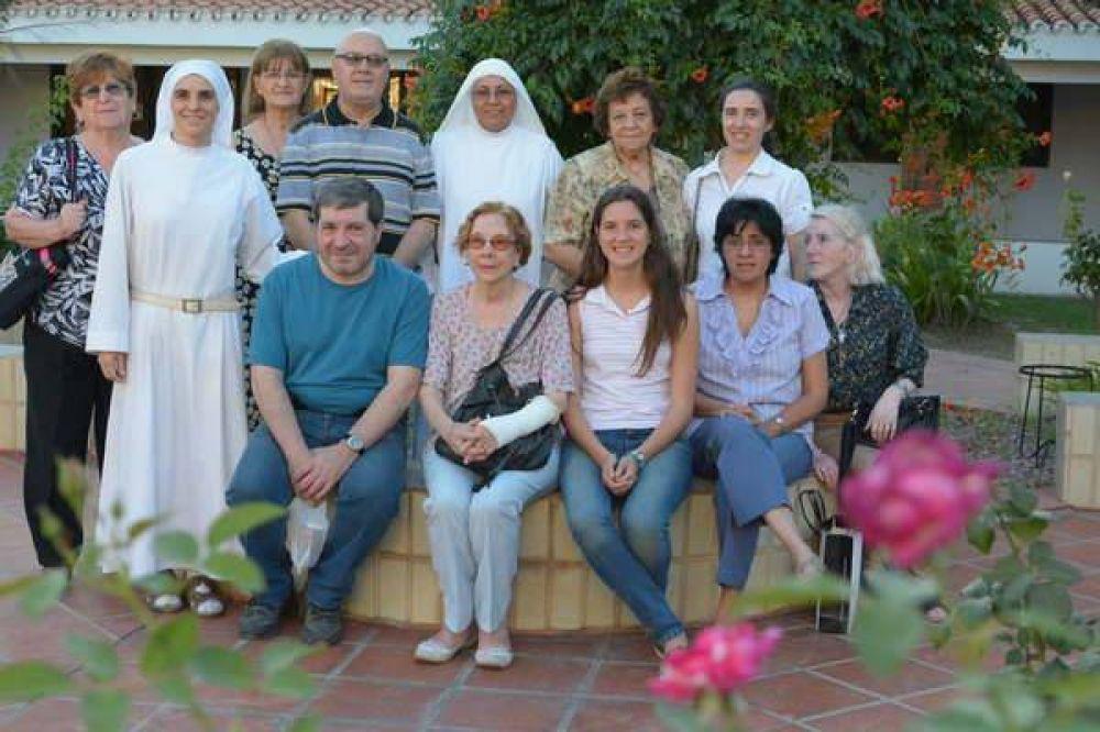 La comunidad de Santo Domingo visitó a las monjas benedictinas