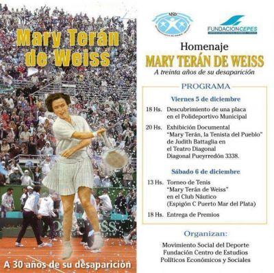 A treinta años de su suicidio: Mary Terán de Weiss, el pecado de ser peronista