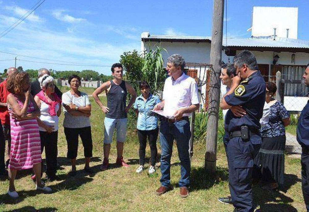 Villa Gesell: Los vecinos del barrio San Jorge cuentan con un Botón de Pánico.