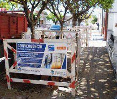 Obras de EDEN en Moreno y Belgrano