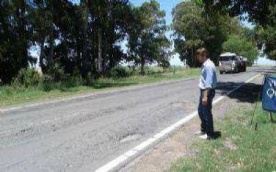 General Viamonte: concejales pidieron obras de mantenimiento en la Ruta 65