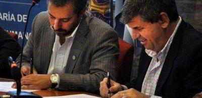 DDHH y UNC firmaron convenios contra la violencia institucional