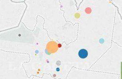 Salta: Conocé el mapa de las obras públicas para 2015