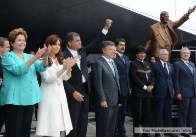 Presidentes suramericanos inauguraron la nueva sede de la Unasur en la