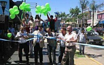 Jorge Macri inauguró el remodelado Centro Comercial de Munro
