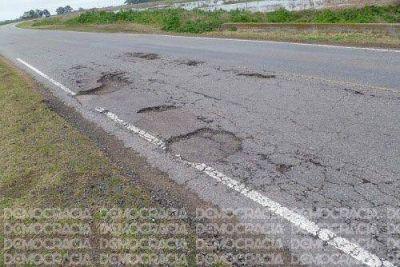 No cesan los reclamos por el estado de las rutas que atraviesan la Región