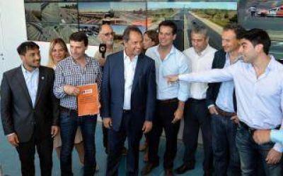 Scioli inauguró centro de monitoreo en autopista Buenos Aires - La Plata