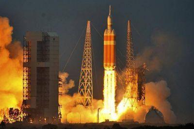 Despegó Orion, el prototipo de una cápsula para viajar a Marte