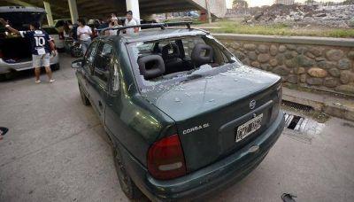 Heridos y graves incidentes en el final del partido en el que Talleres perdió el ascenso