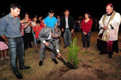 El Gobierno donó un terreno y construirá un templo y centro pastoral dedicado a San Ignacio de Loyola
