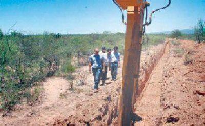 Comenzó la construcción del acueducto Olta-Chañar