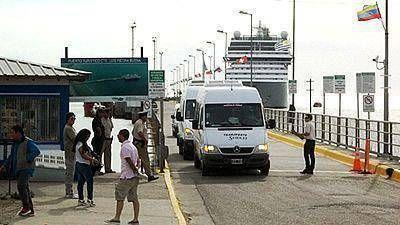 Otro buque se sumó a la temporada de cruceros de Madryn