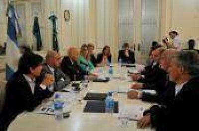 Hidráulica La Plata: Integrantes de la Comisión Bicameral reciben a representantes de