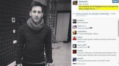¿La UEFA lo persigue? Messi se quejó de un control antidoping sorpresa
