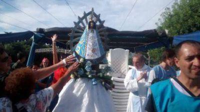 """En el Día de la Inmaculada se realizó la """"Procesión náutica"""""""