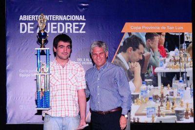Pérez Ponsa ganó el Abierto Internacional de Ajedrez