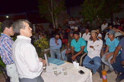 La Agrupación 3 de Octubre ofreció total apoyo al intendente Alberto Nievas