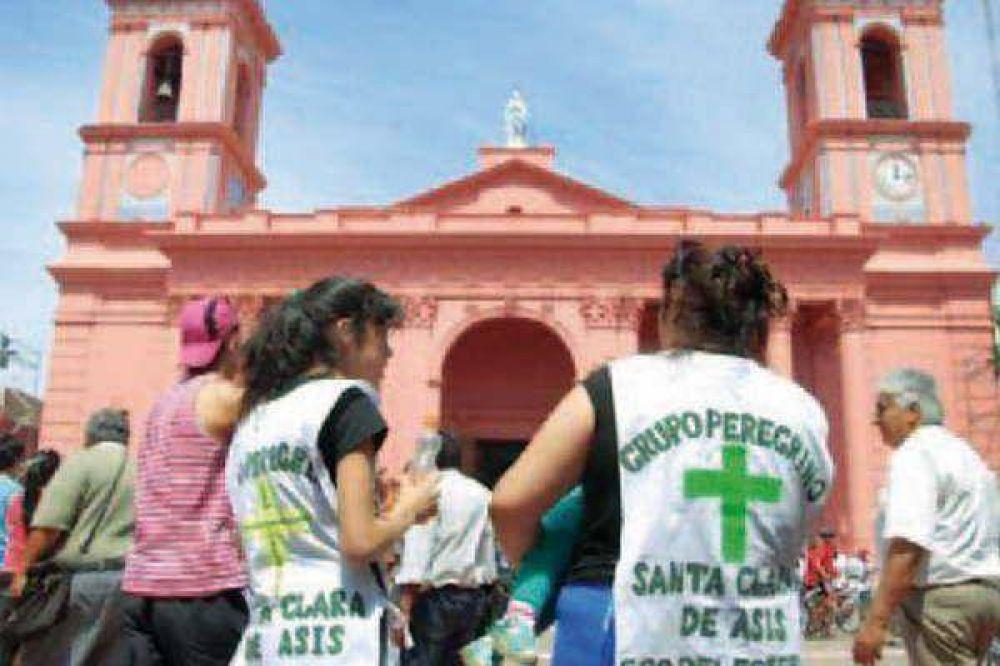 Hubo una imponen te presencia de santiagueños en la fiesta de la Morenita
