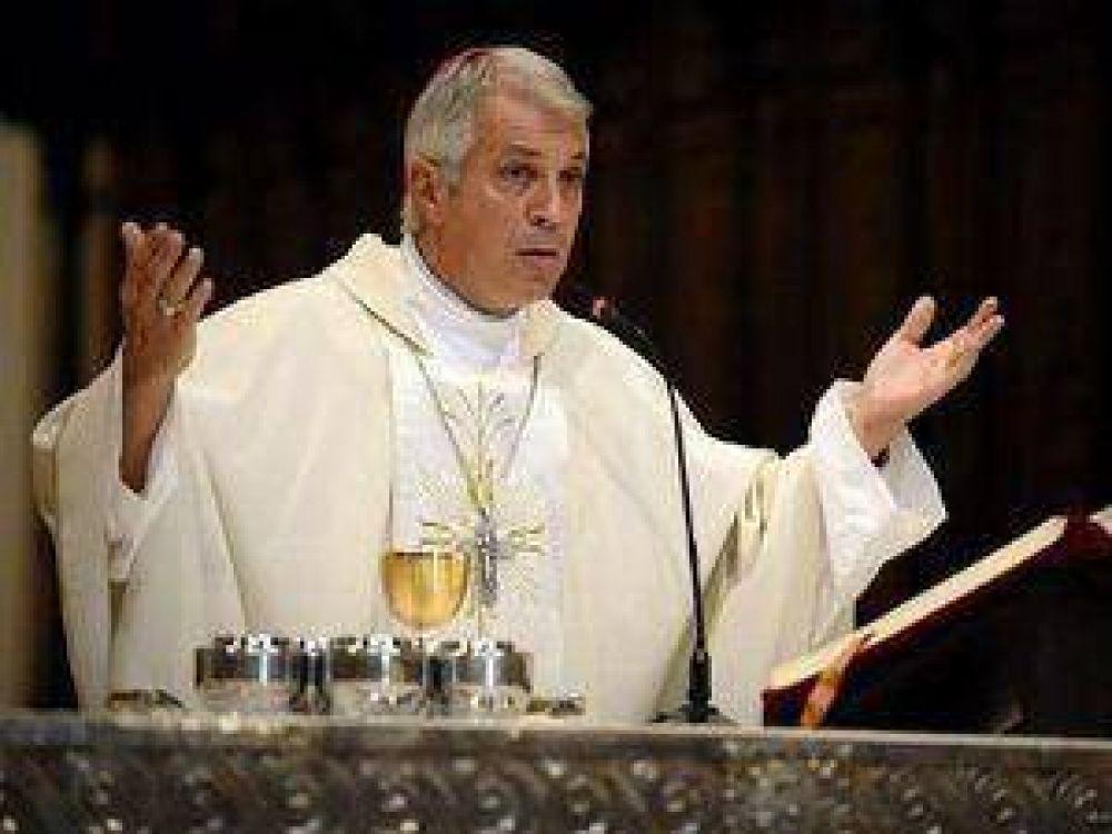 Monseñor Eduardo García se despidió de la arquidiócesis de Buenos Aires