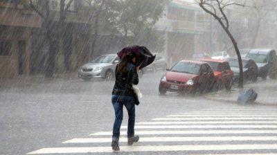 Rige un alerta meteorológico para San Luis