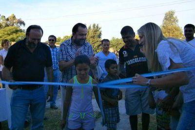 Barón: entregaron viviendas del Ipav
