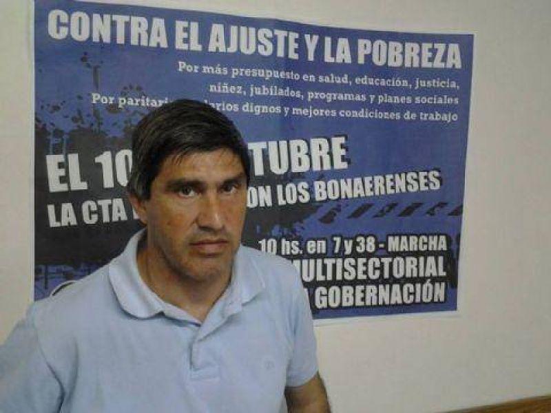Lescano: �En ATE seguimos luchando por mejorar el salario de los compa�eros�