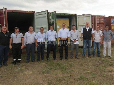 Llegó a Jujuy nuevo equipamiento para la extracción de litio