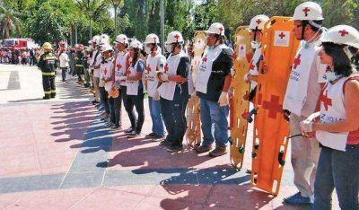 La Cruz Roja entregará repetidoras a Defensa Civil para emergencias