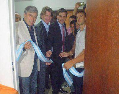 """Inauguraron en San Martín oficinas técnicas de """"Scioli-Phatouros 2015"""""""