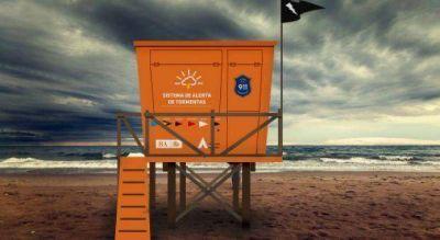 La Provincia implementar� la bandera negra ante tormentas el�ctricas