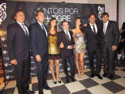 """Artistas, figuras del espectáculo y actores en la cena """"Juntos por + Tigre"""""""