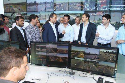 Ferraresi participó de la inauguración del centro de monitoreo de la Autopista Bs. As. – La Plata